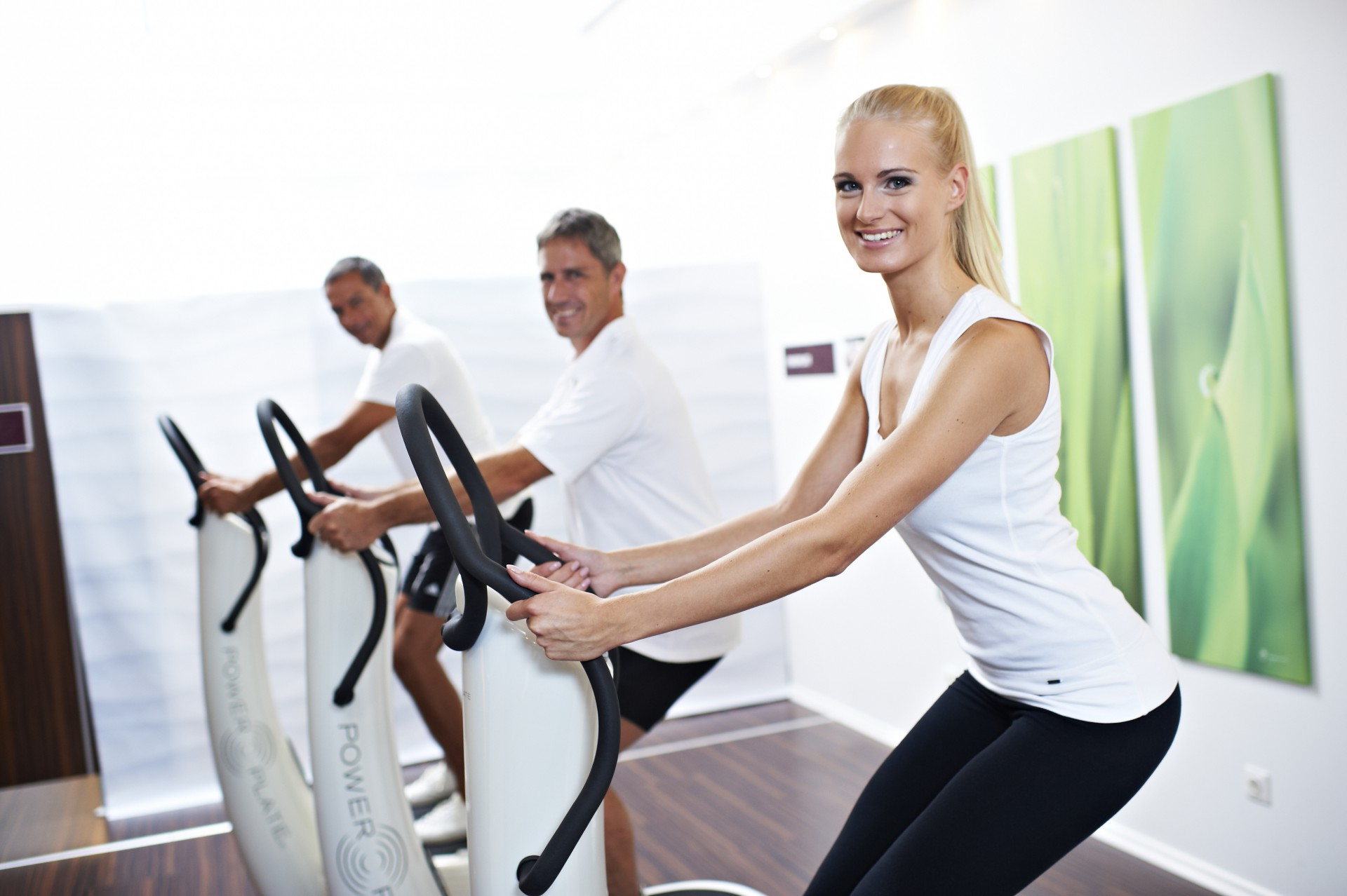 Power Plate Trainingssystem - das Original Foto